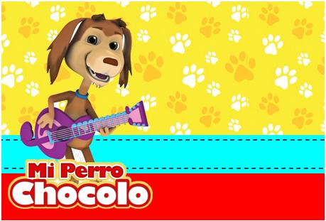 Tita-candy bar mi perro chocolo kit imprimible