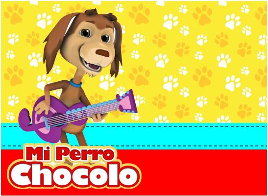 opera-candy bar mi perro chocolo kit imprimible