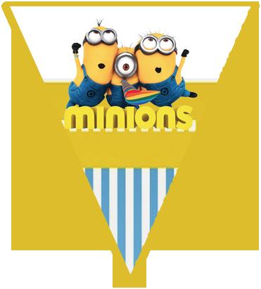 paraguita candy bar minions kit imprimible