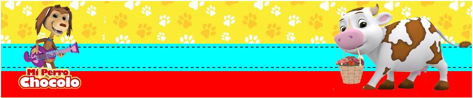 turron de mani-candy bar mi perro chocolo kit imprimible