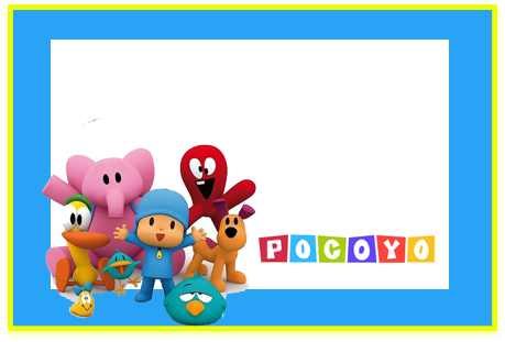 Tita candy-bar pocoyo kit-imprimible