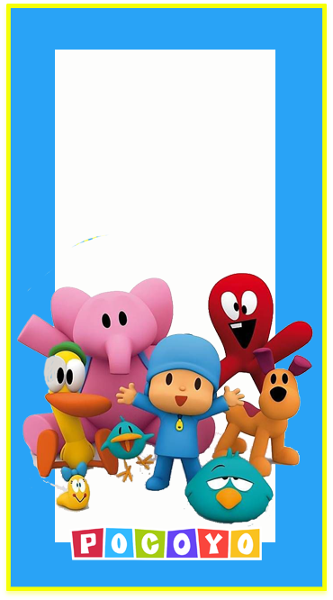 clubsocial candy-bar pocoyo kit-imprimible