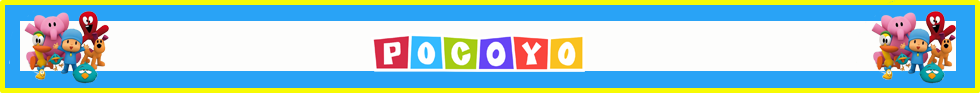 layapa candy-bar pocoyo kit-imprimible