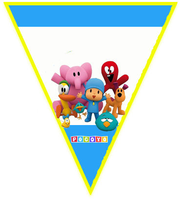 paraguita candy-bar pocoyo kit-imprimible