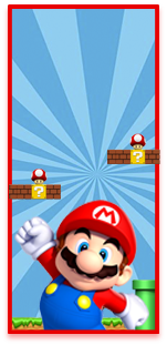 picodulce-candy bar mario bross kit imprimible