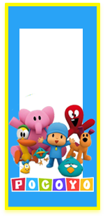 picodulce candy-bar pocoyo kit-imprimible