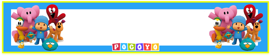 turron de mani candy-bar pocoyo kit-imprimible