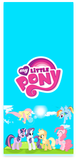 picodulce-candy bar little pony kit imprimible