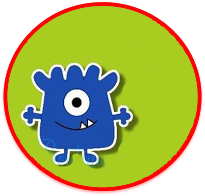 alfajores3 -candy bar baby monster kit imprimible
