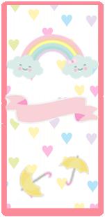 picodulce-candy bar lluvia de amor kit imprimible