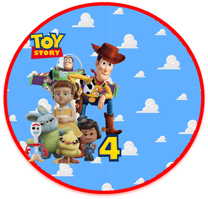 alfajores3 candy bar toy story 4 kit imprimible