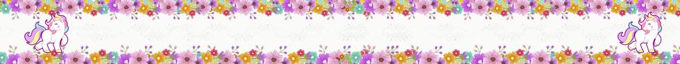layapa -candy bar unicornio y flores kit imprimible