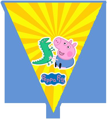 paraguita -candy bar GEORGE PIG kit imprimible