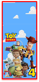picodulce candy bar toy story 4 kit imprimible