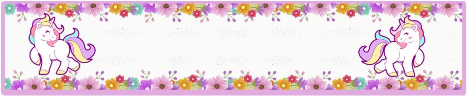 turron de mani-i-candy bar unicornio y flores kit imprimible
