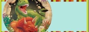 Kit imprimible candy bar Dinosaurios para cumpleaños