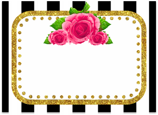 opera -candy bar rayas y flores kit imprimible