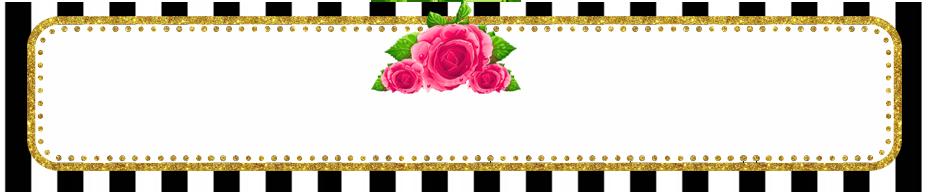 turron de mani -candy bar rayas y flores kit imprimible