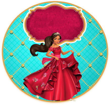 alfajores3- candy bar elena de avalor kit imprimible