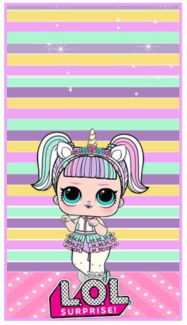 baggio mini-candy bar el LOL unicornio kit imprimible