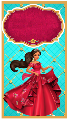 baggio mini- candy bar elena de avalor kit imprimible