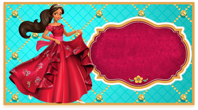 chocolatearcor- candy bar elena de avalor kit imprimible