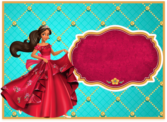 opera- candy bar elena de avalor kit imprimible
