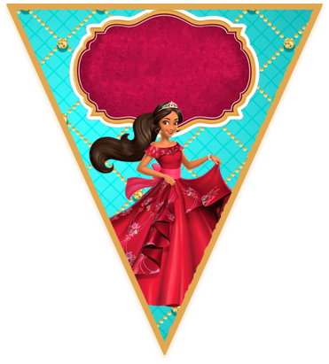 paraguita- candy bar elena de avalor kit imprimible