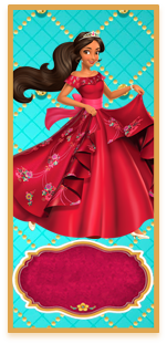 picodulce- candy bar elena de avalor kit imprimible