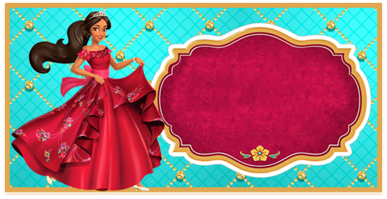 rhodesia- candy bar elena de avalor kit imprimible