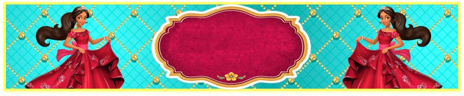 turron de mani- candy bar elena de avalor kit imprimible