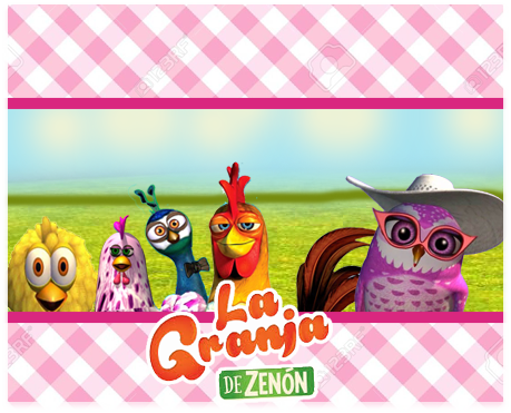 alfajoresr-candy-bar LA GRANJA DE ZENON AVES kit-imprimible