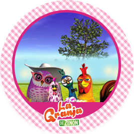 bonobon-candy-bar LA GRANJA DE ZENON AVES kit-imprimible