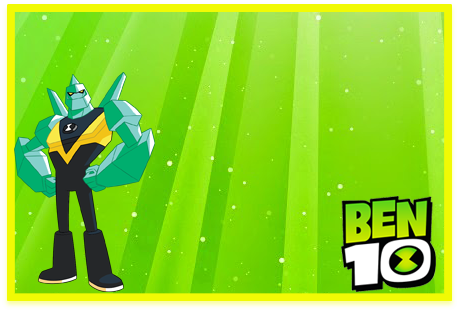Tita- candy bar BEN10 kit imprimible