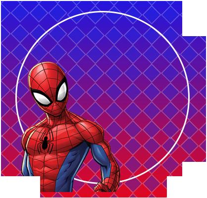 alfajores3-candy-bar spiderman animado kit-imprimible
