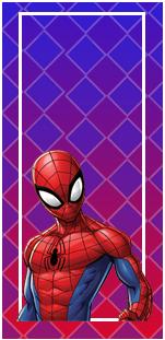 picodulce-candy-bar spiderman animado kit-imprimible