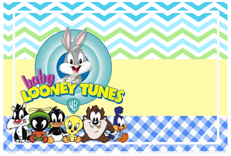Tita-candy-bar baby looney toon kit-imprimible