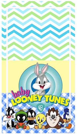 baggio minir-candy-bar baby looney toon kit-imprimible