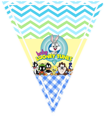 paraguitar-candy-bar baby looney toon kit-imprimible
