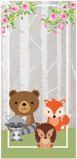 picodulce-candy-bar animalitos de la selva kit-imprimible