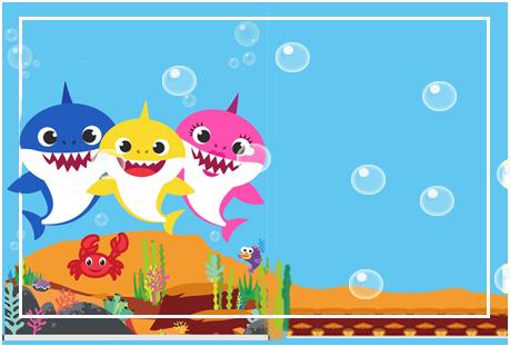 Tita -candy-bar baby shark kit-imprimible