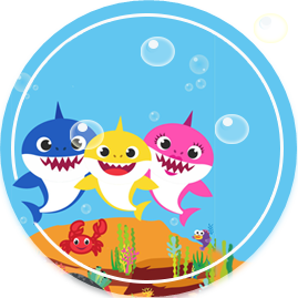 bonobon -candy-bar baby shark kit-imprimible
