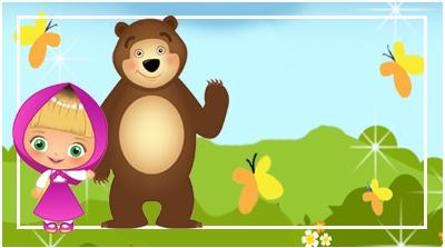 chocolatin pequeño candy bar masha y el oso tiernos kit imprimible