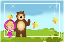 flynnpaff candy bar masha y el oso tiernos kit imprimible