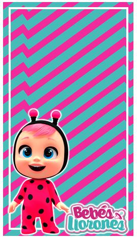 baggio mini-candy bar BEBES LLORONES kit imprimible