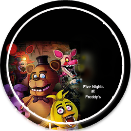 bonobon -candy bar Five nights at freedys kit imprimible
