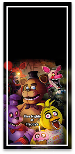picodulce -candy bar Five nights at freedys kit imprimible