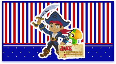 chocolate arcor candy bar jack el pirata kit imprimible