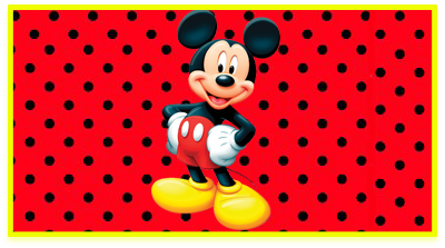 chocolatearcor candy bar mickey kit imprimible