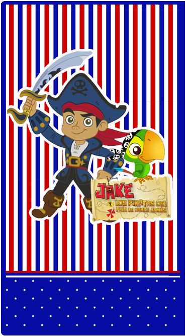 club social candy bar jack el pirata kit imprimible